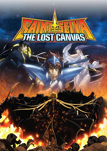 Saint Seiya Lost Canvas Complete Series (4DVD Set) (Saint Seiya The Lost Canvas)
