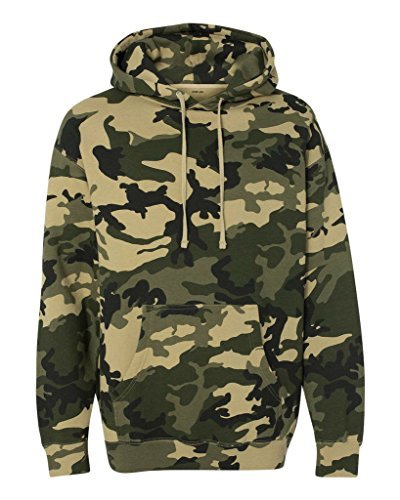 Camo Military Hoodie - 3