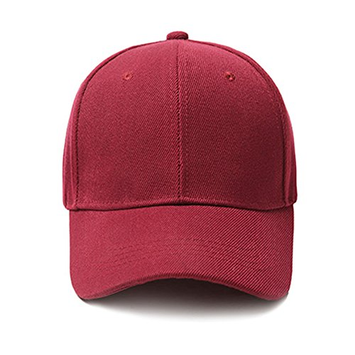 y 9 de selecci¨®n de ligero Sports colores para Gorra Caqui transpirable informal tinto el Memoryee sol Sombrero vino b¨¦isbol m¨²ltiple 06Aqx4