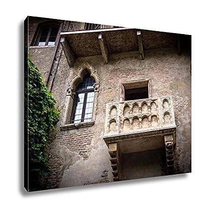 Amazon Com Ashley Canvas Balcony Of Romeo And Juliet In Verona