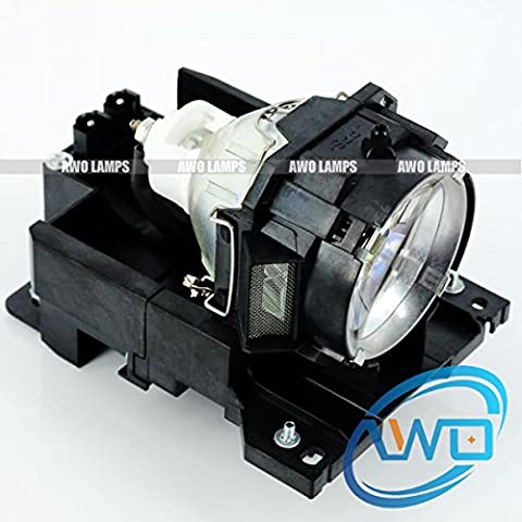 AWODT00771 Premium Replacement Bulb/Lamp with Housing for HITACHI CP-X505 CP-X605 CP-X608 (Replacement Lamp Hitachi Dt00771)