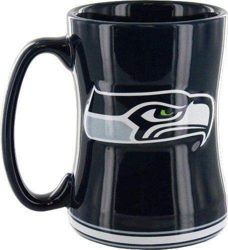 Seattle Seahawks Sculpted Coffee Mug