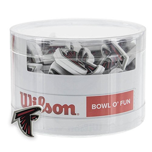(Wilson Sporting Goods Atlanta Falcons NFL Tennis Racket Vibration Dampener (2)
