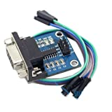 XINTE RS232 To TTL Serial Converter Interface Module Board With Indicator Light