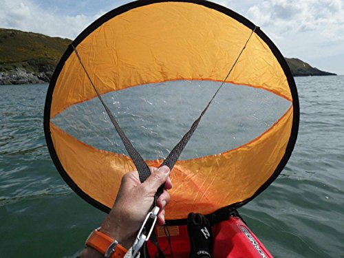 BaiFM-Downwind-Paddle-Kayak-Wind-Sail-Kit-46-inches-Kayak-Canoe-Accessories-Compact-Portable-Easy-Setup-Deploys-Quickly-Orange
