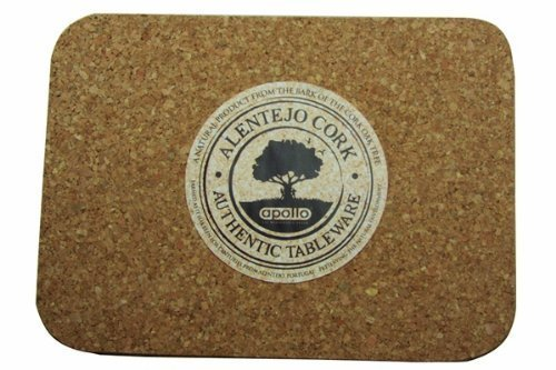 Apollo 280 x 200 mm Cork Place Mats, Set of 6 1561