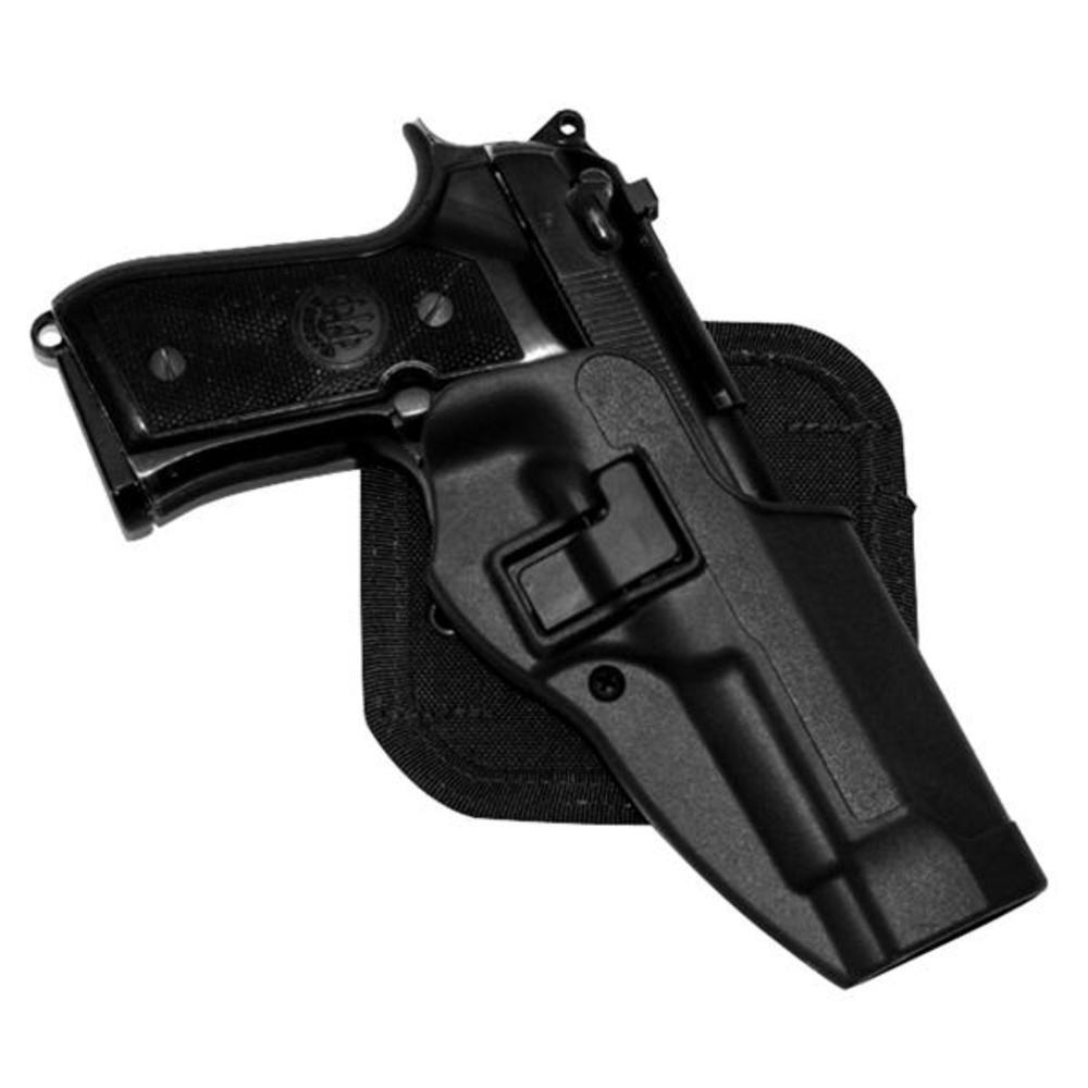Blackhawk Cqc™ Carbon Fiber Holster Matte Finish Beretta 92 / 96, Black, Rh BLACKHAWK! 410504BK-R 410504BKR