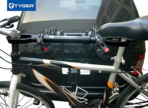 Tyger Auto TG-RK1B108B Deluxe Bike Top Frame Cross Bar Bicycle Telescopic Adaptor - Black by Tyger Auto (Image #6)