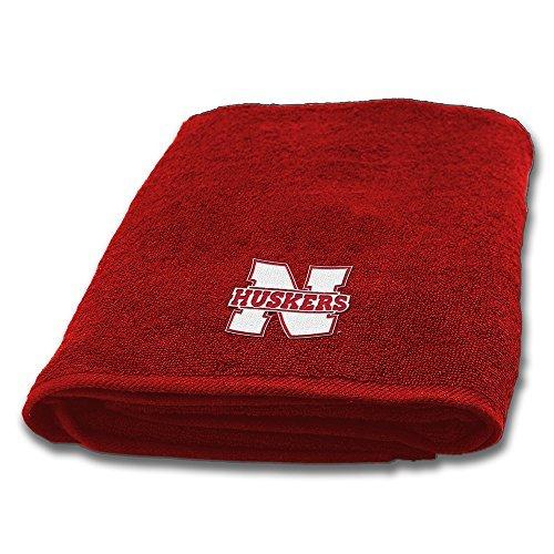 Northwest Nebraska Cornhuskers NCAA Applique Bath Towel
