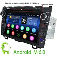 JOYING 8 inch Head Unit for Honda CRV CR-V 2007 2008 2009 2010 2011 Android 6.0 Marshmallow 2GB Quad Core Double 2 Din Car Radio Stereo Support Bluetooth 4.0 Easy Connect 4G WiFi GPS Navigation