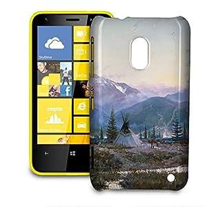 Phone Case For Nokia Lumia 620 - Days of Peace Snap-On Hardshell
