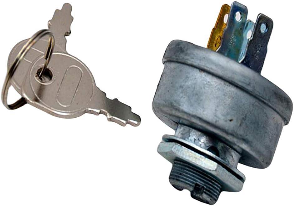 perfk Interruptor de Encendido Y Llave para Tractor Cortacésped MTD 725-0267 925-0267