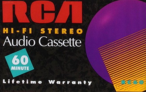 Price comparison product image RCA Hi-Fi Stereo Blank Audio Cassette Tape RC60