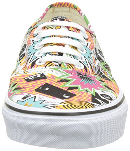 Freshness Authentic UA True Vans Tape Basse Ginnastica White Uomo Multicolore Scarpe Mixed da 855xqd