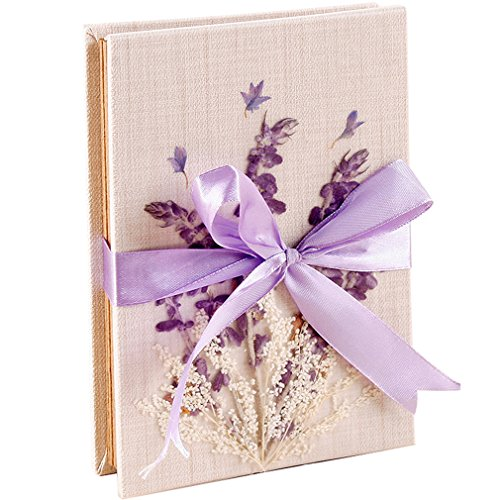 TINTON LIFE DIY Scrapbooks Albums Hardcover Photo Albums Photos Kraft Paper Folding Album Photo for Wedding Anniversary Travel Birthday (6.7