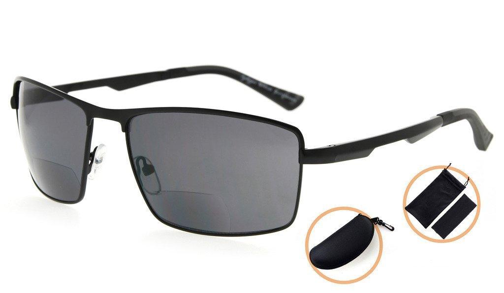87f59df0cd6 Amazon Com Aviator Polarized Bifocal Reading Sunglasses By Florida