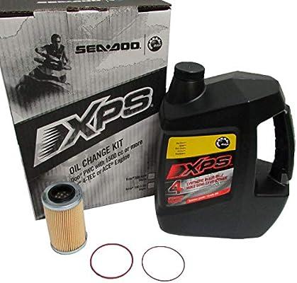 Sea Doo XPS 4 Stroke Synthetic Blend Oil Change Kit 1503 4 TEC P N 295501157