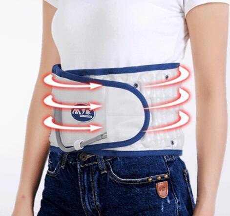LPY-Lumbar Support Lumbar Disc Herniation Massager Spinal Air Traction Air Wave Back Belt , A by Waist support (Image #3)
