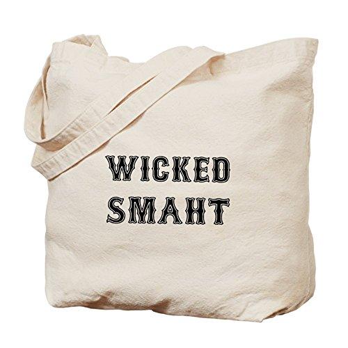 CafePress–Wicked Smaht–Gamuza de bolsa de lona bolsa, bolsa de la compra