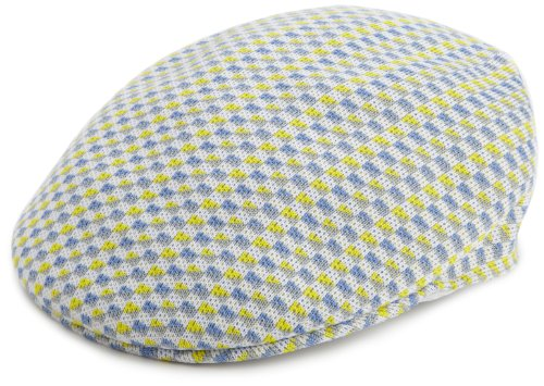 Kangol Little Boys' Kids Boat Check 504 Hat, White, Large ()