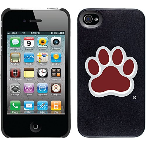 Coveroo Thinshield Snap-On Case for iPhone 4s/4 - Retail Packaging - Mississippi State Paw Design - Mississippi State Iphone 4 Case
