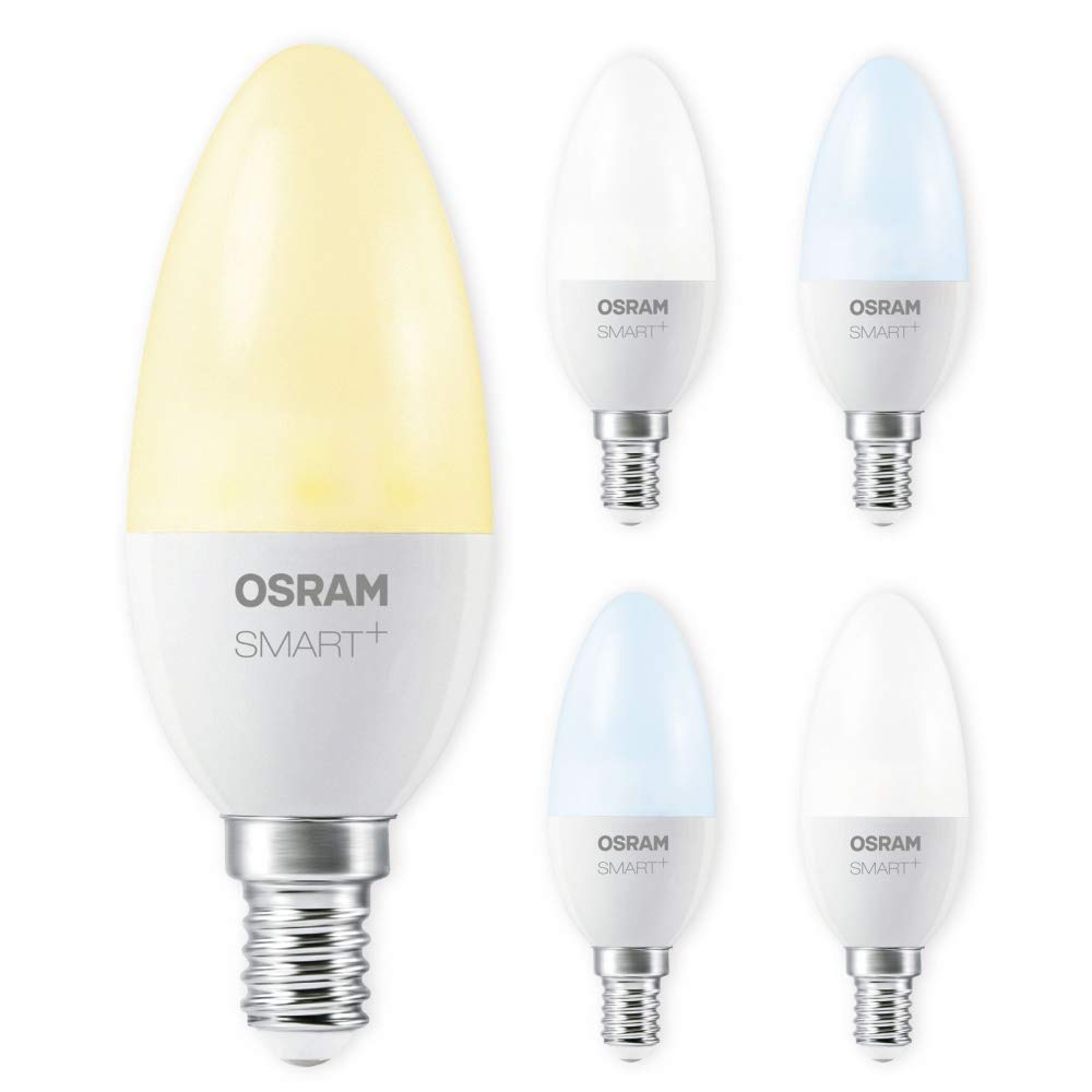 OSRAM SMART+ LED E14 6W 40W Tunable Weiß ZigBee Lightify Echo Alexa kompatibel Auswahl 5er Set