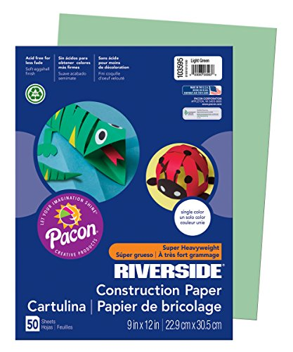 PAC103595 - Pacon Riverside Construction Paper (Pacon Mailers)