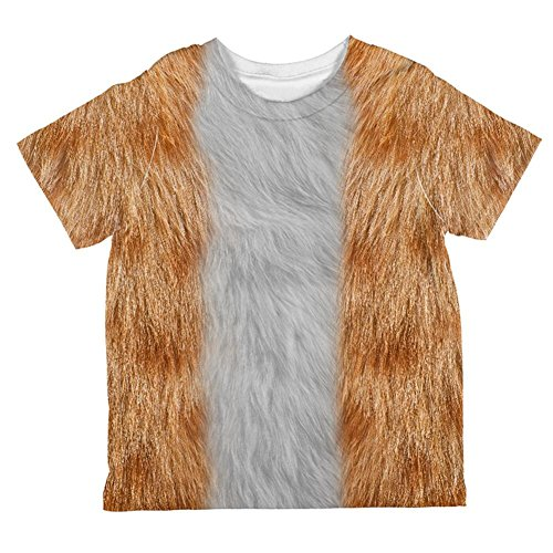 Halloween Orange Cat Costume All Over Toddler T Shirt Multi 4T