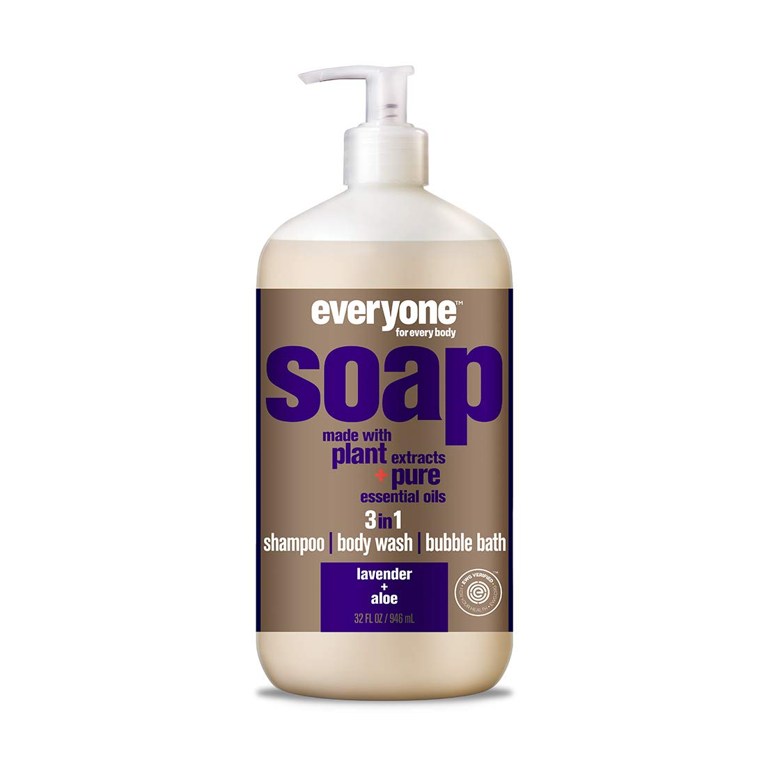 Everyone 3-in-1 Soap, Lavender and Aloe, 32 Ounce