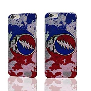 """New Grateful Dead 3D Rough iphone 6 -4.7 inches Case Skin, fashion design image custom iPhone 6 - 4.7 inches , durable iphone 6 hard 3D case cover for iphone 6 (4.7""""), Case New Design By Codystore"""