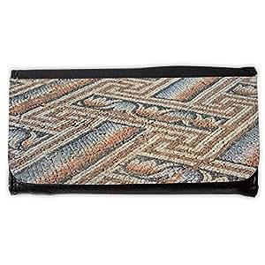 le portefeuille de grands luxe femmes avec beaucoup de compartiments // M00157122 Antecedentes antiguo arte // Large Size Wallet