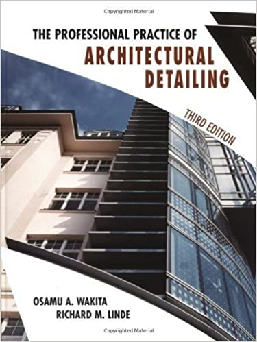 Book The Professional Practice of Architectural Detailing by Osamu A. Wakita (1999-02-16)