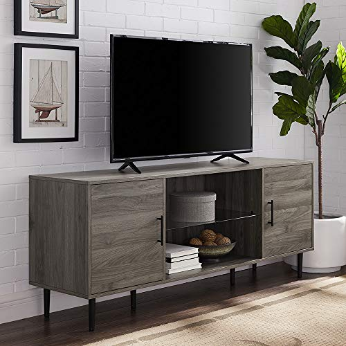 WE Furniture AZ60NOR2DSG TV Stand, 60