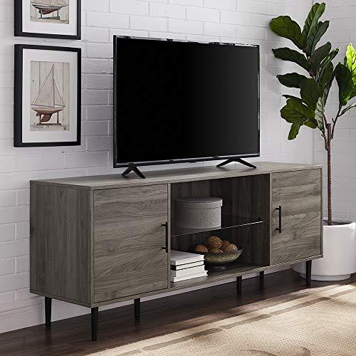 - WE Furniture AZ60NOR2DSG TV Stand, 60