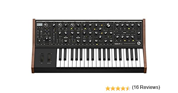 Amazon com: Moog Sub 37 Tribute Edition Analog Synthesizer