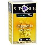Stash Premium Chamomile Herbal Tea, Tea Bags, 20-Count Boxes (Pack of 6) ( Value Bulk Multi-pack)