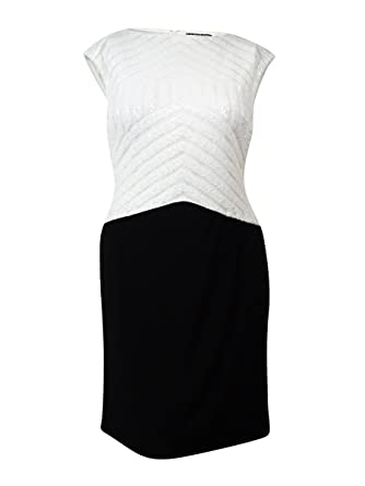 1d03be75e11 Image Unavailable. Image not available for. Color  Lauren Ralph Lauren  Women s Sequined Colorblock Jersey Dress (6