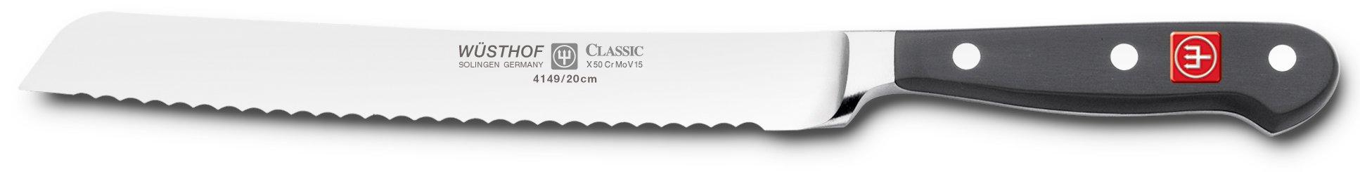 Wusthof Classic 8-Inch Bread Knife