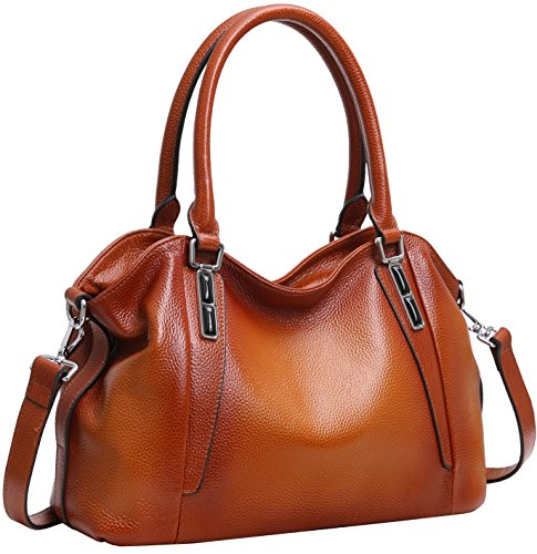 Women's Leather Satchel Handbags: Amazon.com