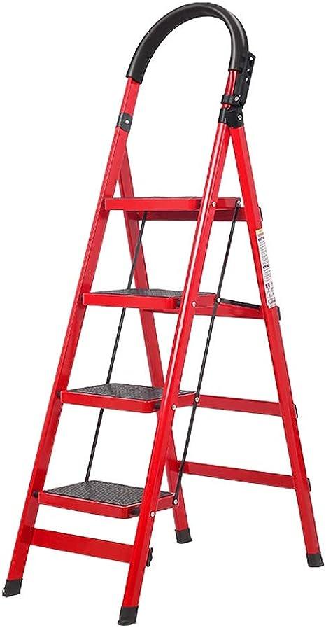 QARYYQ Escalera escalera Escalera telescópica de múltiples capas cocina escalera de espiga de alta resistencia multifunción multifuncional aleación de aluminio plegable hogar escalera de contracción r: Amazon.es: Electrónica