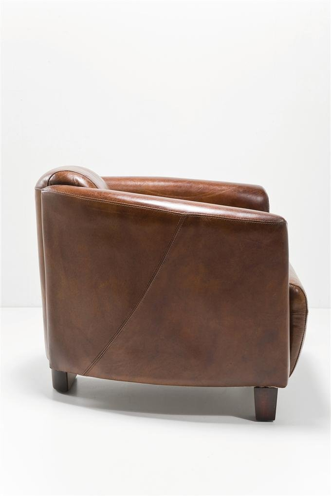 KARE Designer Sessel Cigar Lounge Rindsleder Braun: Amazon.de: Küche U0026  Haushalt