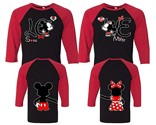 Love Mickey Minnie Couple Shirts - Disney Couple Shirts - His and Hers Shirts