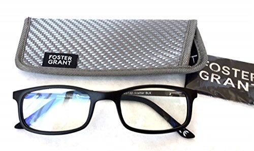 Foster Grant +2.00 Men's Plastic Rectangular E-Reader Reading Glasses(430) (Best Ereader For Macular Degeneration)