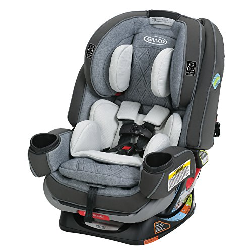 Graco 4Ever Extend2Fit Platinum 4-in-1 Convertible Car Seat, Hayden