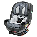 Graco 4Ever 4-in-1 Convertible Car Seat, Extend2Fit Platinum, Hayden