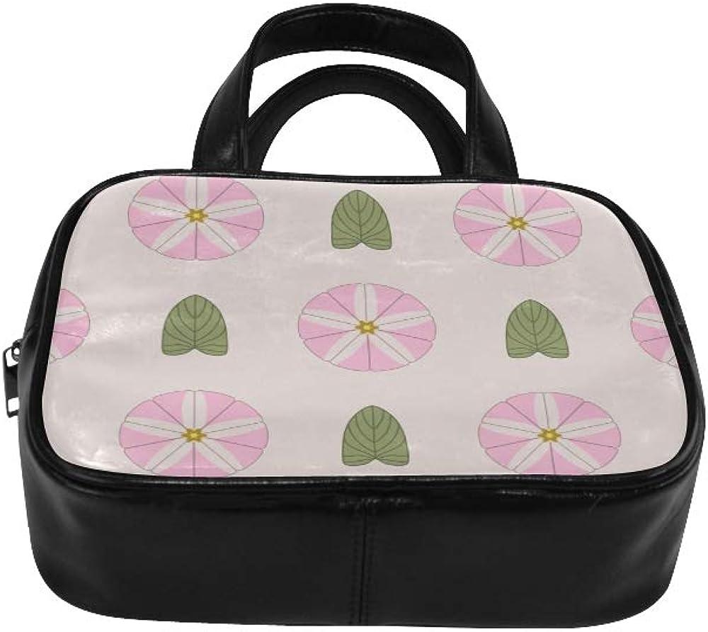Woman Bag Beautiful Morning Glory Totes Bag Handbags Tote Bag Pu Leather Top Handle Satchel Girls Fashion Bags