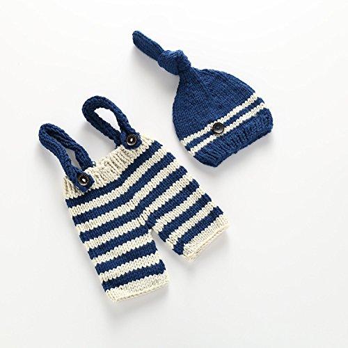 Amazon.com: Neaer Newborn Baby Photography Props Handmade Crochet ...