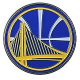 warrior car emblem - FANMATS 22216 Color Emblem (Golden State Warriors), 1 Pack