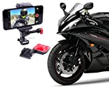 Smartphone Motorcycle & Helmet Sticky Mount Mount Universal For All Phones, Works Great For Video & GPS