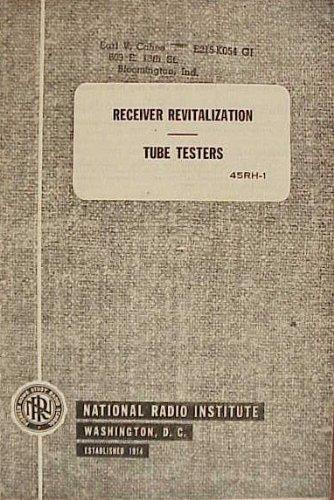 Receiver Revitalization Tube Testers 45RH-1